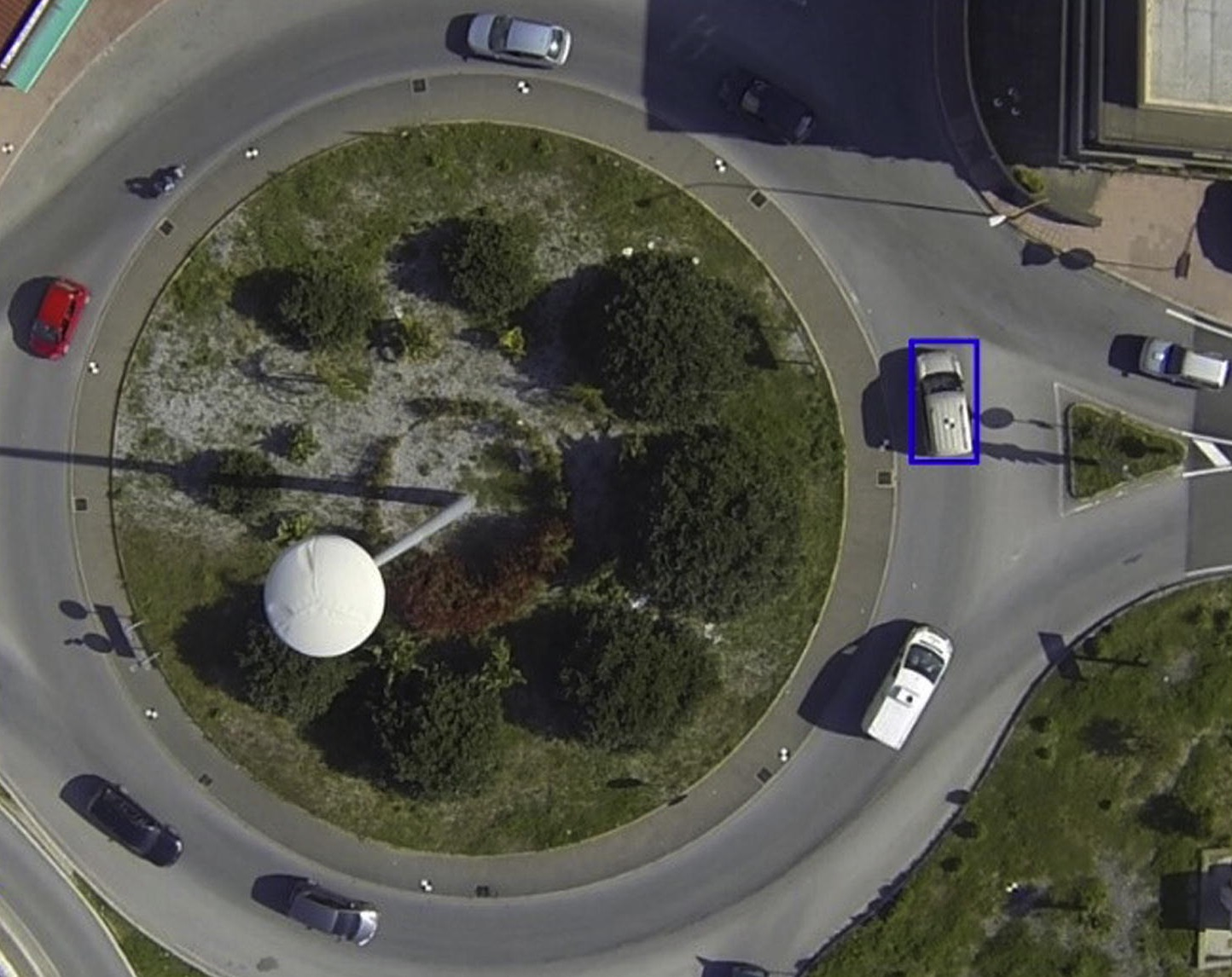 Drone Vehicle Tracking